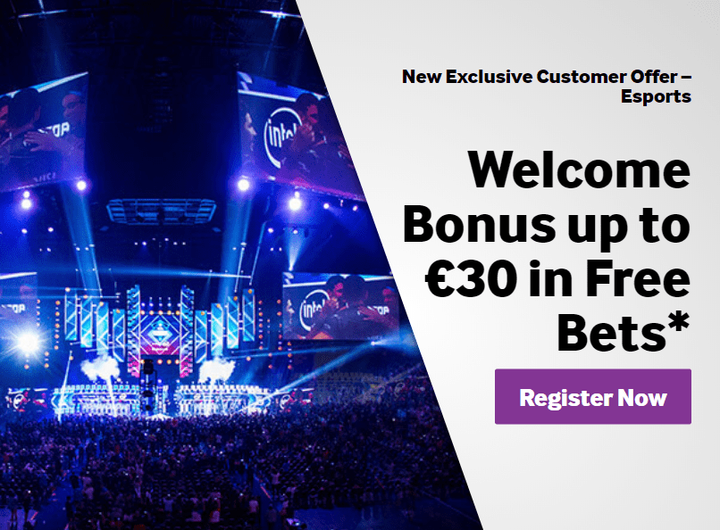 Betway eSports Betting 2019 <EXCLUSIVE € 30 FREE BET BONUS>